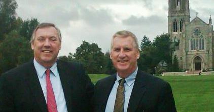 Doug Hale & Doug Cooney at Mercersburg Academy