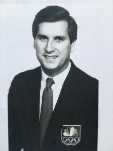 Doug Cooney, 1988 Olympic Games NBC TV Host. Seoul, South Korea